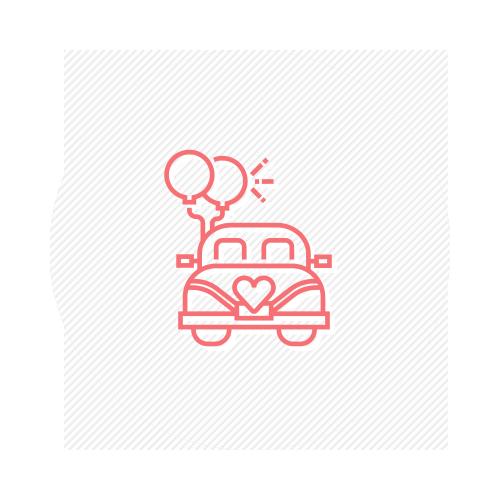 icona macchina sposi